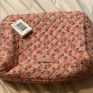 Vera Bradley Large Cosmetic Bag - new with tags